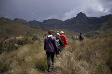 Parque Nacional Cajas  Ecuador