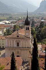 Collegiate Assumption Church in Arco  Italy