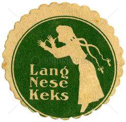 Langnese  Werbemarke  um 1910