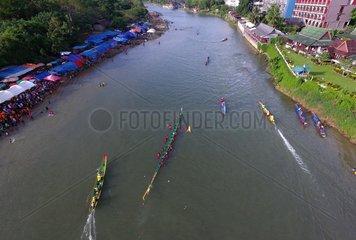 LAOS-VANG VIENG-WAN OK PHANSA FESTIVAL