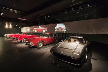 Italy  Piedmont  Turin  New automobile museum  Mauto  Ferrari 208 GTB Turbo 1982 and Alfa Romeo
