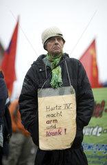 Herbst-Demonstration  Hartz IV