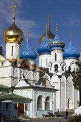 Russia  Sergiev Posad (Zagorsk)  St Serge Holy Trinity Monastery