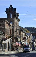 USA  South Dakota  Black Hills National Forest  Deadwood City