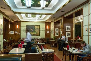 Prag  Tschechien  im Kuenstlercafe Cafe Slavia