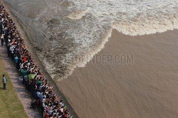 CHINA-ZHEJIANG-QIANTANG RIVER-TIDAL BORE(CN)