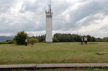 Geisa  Deutschland  DDR-Beobachtungsturm auf der Grenzanlage der Gedenkstaette Point Alpha