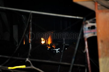 GHANA-ACCRA-FUEL STATION-EXPLOSION