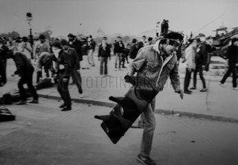FRANCE - PARIS - MAY 1983 STUDENTS PROTESTS
