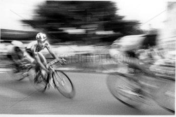 Radrennen um die Johanneskirche