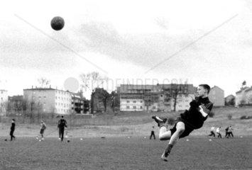 Jugendfussballtraining am Eulenkopf