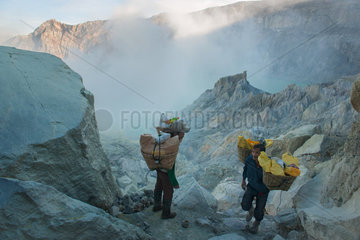INDONESIA - JAVA ISLAND - KAWAH IJEN