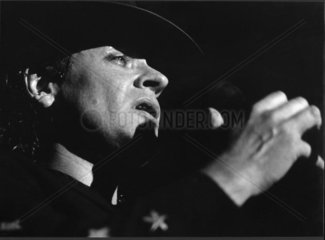 Udo Lindenberg on stage