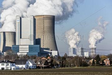 Kraftwerke im Rheinischen Braunkohlerevier  Niederaussem