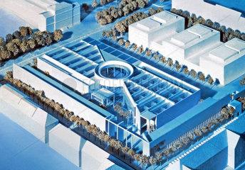 Architekturmodell Pinakothek der Moderne  Muenchen  2000