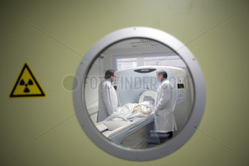 Obduktions-Scanner der Pathologie