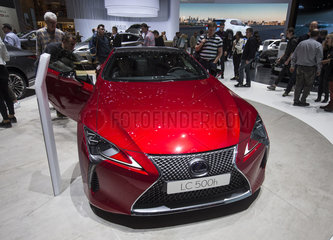 SWITZERLAND-GENEVA-MOTOR SHOW