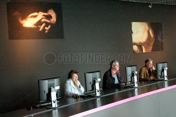 Amsterdam. Rembrandt - Caravaggio Ausstellung im Van Gogh Museum