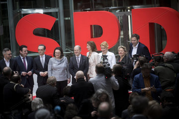 SPD Presents Government Cabinet Members