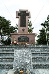 Neuville-Saint-Vaast  Frankreich  Kreuz der polnischen Freiwilligen