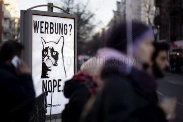 Werbung nope Berlin werbefrei