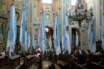 Lemberg  Ukraine  die Lateinische Kathedrale Mariae Himmelfahrt