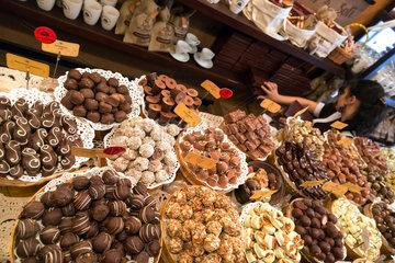 Lemberg  Ukraine  die Lviv Schokoladenmanufaktur in der wul Serbska in der Altstadt