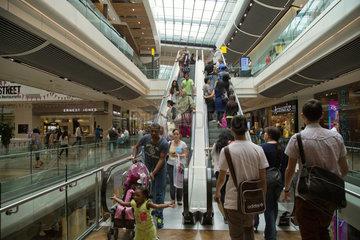 London  Grossbritannien  Shopping Mall WESTFIELD STRATFORD CITY