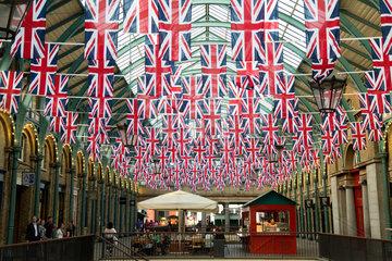 London  Grossbritannien  in den Markthallen des Covent Garden Market