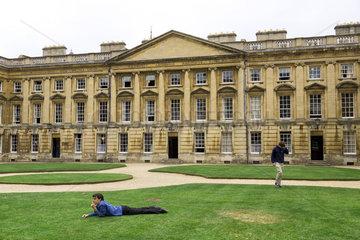 Oxford  Grossbritannien  Studentenbehausungen des Christ Church College