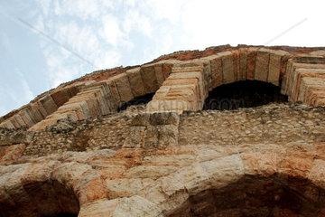Verona  Amphitheater  Teilansicht  Italien