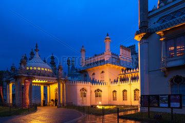Brighton  Grossbritannien  der Royal Pavilion