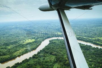 Landschaft bei Dungu