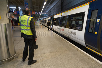 London Stansted  Grossbritannien  Stansted Express  Endstation London Stansted Airport