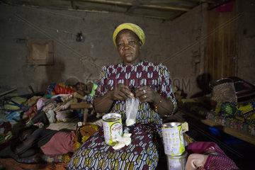 Reportage ueber das Zentrum von Sr.Angélique Namaika