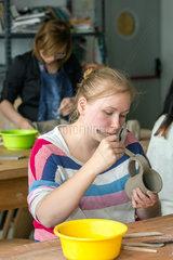 Posen  Polen  Toepfer-Workshop im Fachbereich Domestic Design