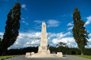 Zonnebeke  Belgien  Neuseeland-Denkmal