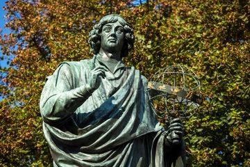 Thorn  Polen  das Kopernikus-Denkmal