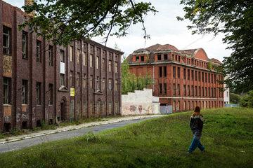 Gubin  Polen  Industrieruine