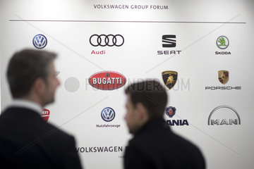 Volkswagen  Annual Press Conference