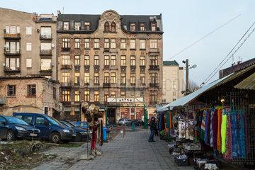 Warschau  Polen  der Rozycki Basar