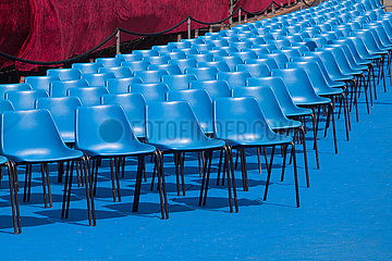 Blue Chairs - Pisa
