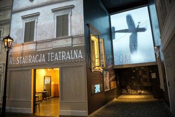 Warschau  Polen  Dauerausstellung im Museum POLIN