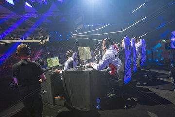 Posen  Polen  Continental Rumble auf der Poznan Game Arena