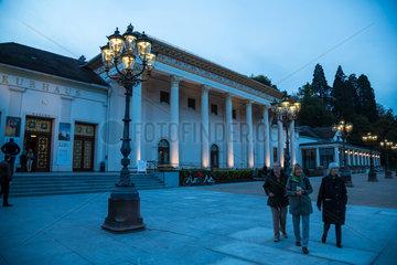 Baden-Baden  Deutschland  Kurhaus Baden-Baden am Abend