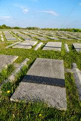 Breslau  Polen  polnischer Soldatenfriedhof mit Gefallenen aus dem Zweiten Weltkrieg