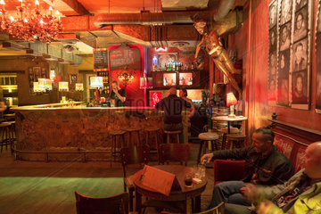 Breslau  Polen  Cafe Manana im Zentrum