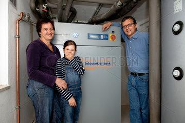 Berlin  Deutschland  ein Zuhausekraftwerk von Lichtblick ist installiert