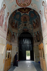 Chitcani  Republik Moldau  Klostertor des Kloster Neu-Niamtz