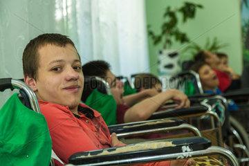 Orhei  Moldawien  Kinder in einem staatlichen Waisenhaus